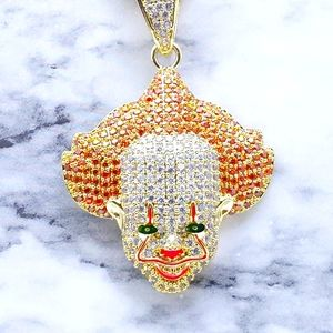 """24""""Rope Chain + 14K Gold Finish Pennywise IT"""